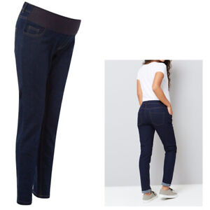 Maternity New Look Under Bump Jeans Skinny Pregnancy Jeggings in Sizes 8-18