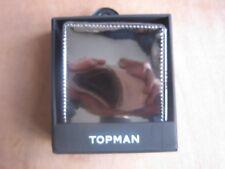 TOPMAN REFLECTIVE BIFOLD WALLET 11.5 x 9.5cm RRP £15**NEW FREE P&P**