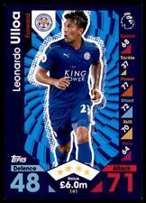 Match Attax 2016-2017 Leonardo Ulloa Leicester Stadt Karte Nr. 141