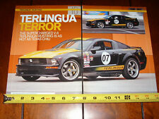SHELBY TERLINGUA SUPERCHARGED MUSTANG - ORIGINAL 2008 ARTICLE
