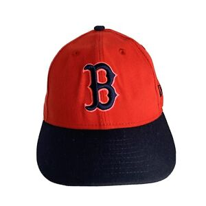 New Era Boston Red Sox Hat 7 1/8 Low Profile New w/o Tag Red Black Pink
