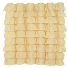 """Carnation Home """"Carmen"""" Polyester Shower Curtain in Gold"""