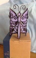 Partylite BUTTERFLY FRIENDS VOTIVE CANDLE HOLDER  NIB