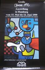 Otmar Alt Ausstellung Plakat Poster 1999 original handsigniert signed autograph
