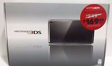 Nintendo 3DS Cosmo Black Complete with Box Handheld System EUC