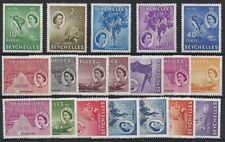 Mint Hinged Cats Seychellois Stamps (Pre-1976)