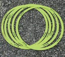 lot 5 Cercles de pétanque / palet jaune geologic
