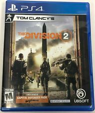 Ubisoft Tom Clancy's The Division 2 Sony Playstation 4 PS4 Adult 1 Owner w/ Pack