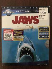 New listing Jaws (Blu-ray, 2012, Universal 100th Anniversary edition. W/ Slipcase. Very Good