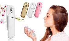 Portable Nano Mist Spray Bottle Facial Skin Moisturiser Assorted Colours
