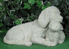 Beagle Hound Puppy Dog With Bunny Rabbit Latex Fiberglass Mold Concrete Plaster