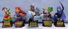 TEEN TITANS mini bust, DC Comics, Robin, Starfire, Cyborg, Raven, Beast Boy