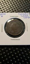Canada 1882 H Large Cent Queen Victoria (Raw875)