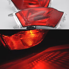 2x REAR BUMPER Fog Reflector Tail lights For Range Rover Sport L320 2013-2017