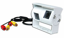Twin White Rear View or Reversing Camera with night vision for Motorhome