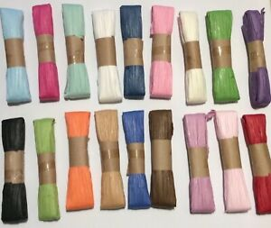 Raffia ECO Paper Ribbon 10m , Gifts, Crafts, Favours, Flowers, Scrapbooks
