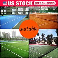 US 42ft 12.8M X 108cm Tennis Net Tennis & Racquet Sports Drop Tennis Net US