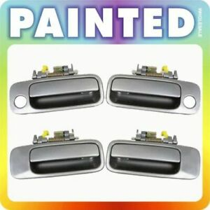 97-01 For Toyota Camry Set 4 Outside Door Handle GRAY 1B2 DH82