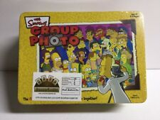 2003 The Simpsons GROUP PHOTO Card Matching Game With Tin USAopoly Complete!