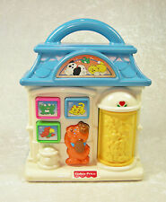 FISHER PRICE 1278 PET SHOP BABY TOY 1996 DOG CAT FROG BIRD MUSIC ELECTRONIC TOY