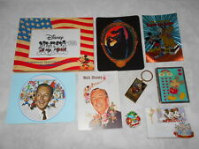 Lot Disney World Disneyland Frames Pin Card Case Postcards Chernabog Chernobog