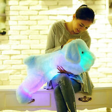 50CM Stuffed Dogs LED Light Up Soft Pillow Doll Plush Toy Dogs Toy Gift Pop