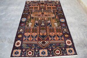 hand made afghan  balochi rugs,  rugs, tapestry, size 220 cm x 129 cm