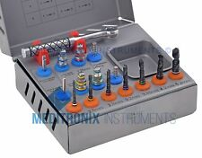 DENTAL IMPLANT TOOLS 15 PCS DRILL KIT / Sinus Lift-Compression-Expander-Screws