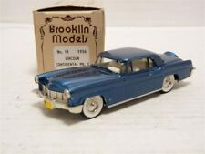 Brooklin 11 1/43 1956 Lincoln Continental Mk.II Handmade White Metal Model Car