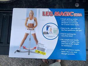 Leg Magic Exerciser Fitness Leg Workout Thigh Glider Machine Ultra Pulse