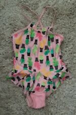 Cat & Jack 5T Swimsuit Pink/Cactus