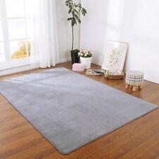 Solid Color Thick Coral Velvet Carpet Modern Area Carpet Bedroom Bedside Tatami