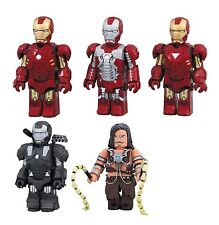 Iron Man 2 Mark MK 4 5 6 War Machine Whiplash Kubrick figure set Medicom