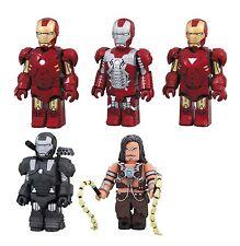 Iron Man 2 Mark MK 4 5 6 War Machine Whiplash Kubrick figure set Medicom
