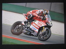 Photo Ducati Superbike Team Panigale WSB 2014 #7 Chaz Davies (GBR) Assen #1