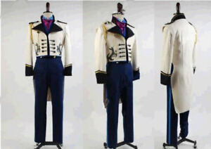 new! Disney Frozen Prince Hans Cosplay Costume Custom Made