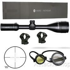 Hawke Fast Mount 3-9x40 AO Telescopic Rifle Scope Sight with Mounts 11323