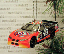 STP #43 Pontiac Grand Prix Chrome RACE CAR Racing CHRISTMAS TREE ORNAMENT xmas