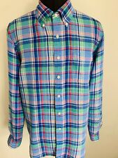 Designer Ralph Lauren Polo Men's Linen Shirt X Large New