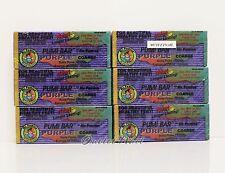 LOT 6 pc Mr. Pumice PUMI BAR Stone Purple Extra Coarse Anti Bacterial >>SHIP 24H