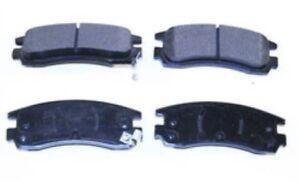 Front Ultra-Premium Ceramic Brake Pads PCD598 Ford Taurus, Lincoln, Mercury