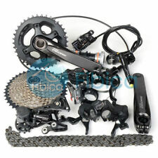 New 2019 Shimano Deore M6000 MTB Groupset Group Hydraulic Brake 2/3x10s 11-42t