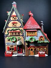 Department 56 North Pole Series #56243 Obbie'S Books & Letrinka'S Candy Store