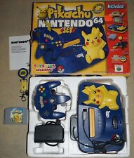 Nintendo 64 Pokemon Pikachu Toys R Us System Console with Box & Keychain #13