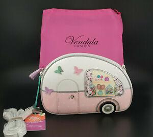 **Stunning Vendula London Vegan 'Sweetie Caravan' Pouch Bag BNWT**