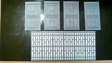 Walls for 4 inch black series figures