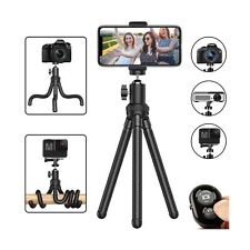 Phone Tripod, Flexible Cell Phone Tripod Adjustable Camera Stand Holder with ...