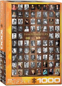 Famous Writers 1000 piece jigsaw puzzle 680mm x 480mm (pz)