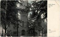 c1910 DANVILLE Indiana Ind Postcard ME CHURCH