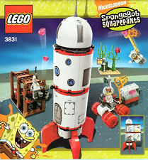 Lego 3831 SpongeBob Rocket Ride ** Sealed Box ** Patrick Sandy Cheeks